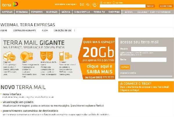 Itelefônica Webmail