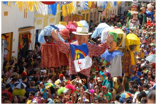 Bloco de Carnaval em Pernambuco a maior folia (Foto: MdeMulher)