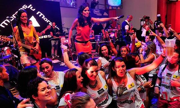 Seja na Bahia ou Rio de Janeiro o Carnaval é sempre uma alegria (Foto: MdeMulher)