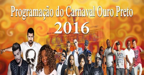 Viagens Baratas Ouro Preto Carnaval 2016 (Foto: Portal Carnaval Ouro Preto)