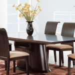 Mesas de jantar – Modelos de vidro e Madeira