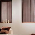 A cortina de bambu pode ser feita por encomenda