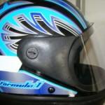 Quanto melhor for o capacete maior é a segurança.