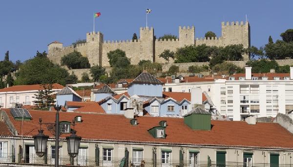 Castelo São Jorge é uma das atrações mais visitadas de Portugal (Foto: CVC)