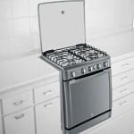 O fogão de embutir em inox combina com qualquer cozinha
