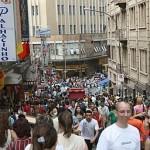 Lojas de Bolsas na 25 de Março
