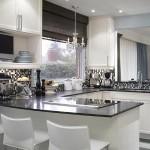 As pastilhas de vidro são excelentes na decoração da cozinha