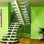 O estilo da escada pre moldada é essencial na decoração