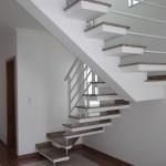 As escadas pré moldadas são de facil colocação e se adaptam a qualquer ambiente