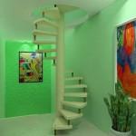 A escada pré moldada pode ser uma grande aliada na decoração causando efeitos variados
