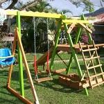 Brinquedos para Playground de Madeira