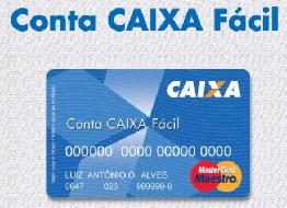 Cartão Caixa Fácil - Como Solicitar