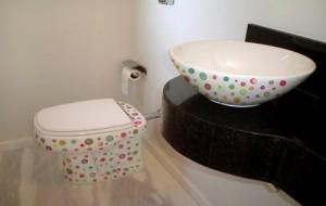 Adesivos Decorativos Para Banheiros – Modelos, Onde Comprar