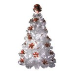Árvore de Natal de garrafa Pet. (Foto: Divulgação)