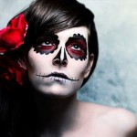 A make-up é o segredo para a produção de Halloween, por isso é importante ter cuidado para escolher as melhores combinações de cores. (Foto: Divulgação)