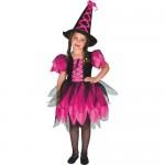 Fantasia de bruxa preta e rosa. (Foto: Divulgação)