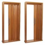 porta sanfonada de maidera