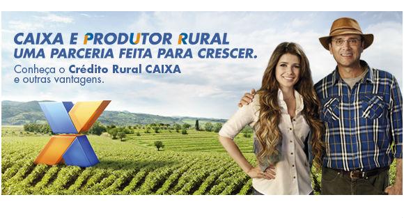 A Caixa Econômica está sempre presente e também na área Rural (Foto: Divulgação)