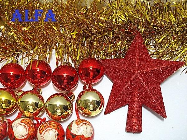 Diversos enfeites de Natal no Mercado Livre (Foto: Divulgação)