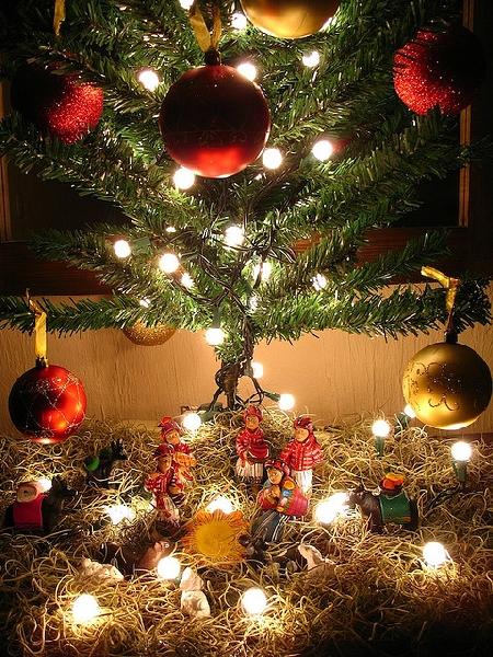 Enfeites de Natal com luzes (Foto: Divulgação)