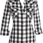 Camisa Xadrez Feminina Fotos, Modelos mais básica (Foto: Divulgação)
