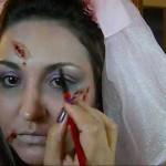 É possível você mesma fazer a sua maquiagem de Halloween. (Foto: Divulgação)