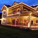 Decoração De Natal Para A Fachada Da Casa