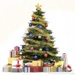 Algumas pessoas optam pelos enfeites tradicionais para a decoração de sua árvore de Natal. (Foto: Divulgação)