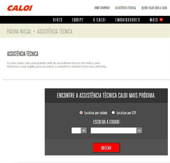 Assistência Técnica Caloi Rede Autorizada