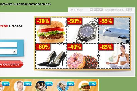 Faça economia comprando nos sites de compra coletiva (Foto: Divulgação)