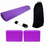Kit de Equipamentos para Yoga