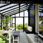 Como Construir Jardim de Inverno Idéias