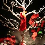 Decoração criativa de vitrine de Natal. (Foto: Divulgação)