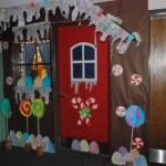 Decoração temática para o natal na escola. (Foto: Divulgação)