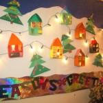 As crianças devem participar da decoração da sala de aula para o natal. (Foto: Divulgação)