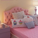 Quarto de menina rosa e lilás inspirado no tema Cupcake. (Foto: Divulgação)