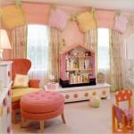 A criatividade também é importante na hora da escolha de móveis para montar o quarto infantil feminino. (Foto: Divulgação)