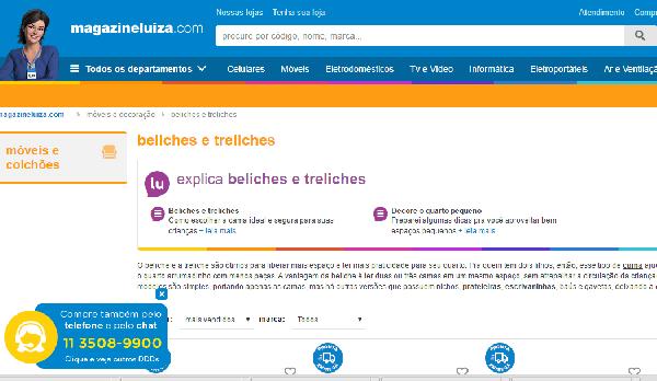 Beliche Magazine Luiza