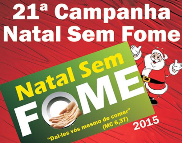 Campanha Natal sem fome 2015 (Foto: Descrição)