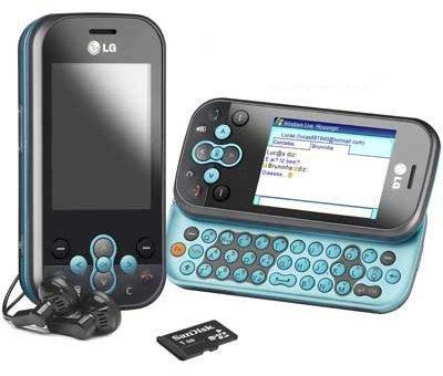 MSN pelo celular