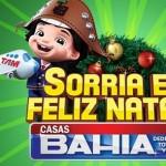 Sorria e Feliz Natal Casas Bahia, Promoção Natal Casa Bahia
