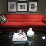 Decoração de Sala com Sofá Vermelho 6