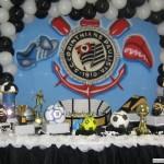 Decoração de Festa Infantil do Corinthians, Fotos