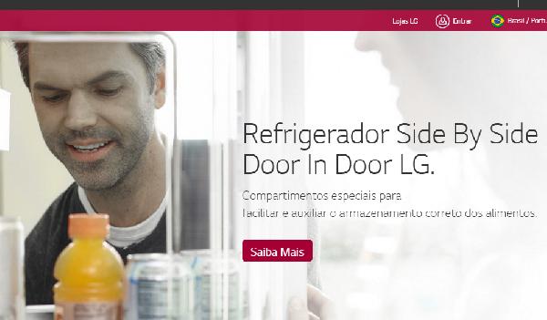 A LG tem os melhores refrigeradores (Foto Divulgação: LG)