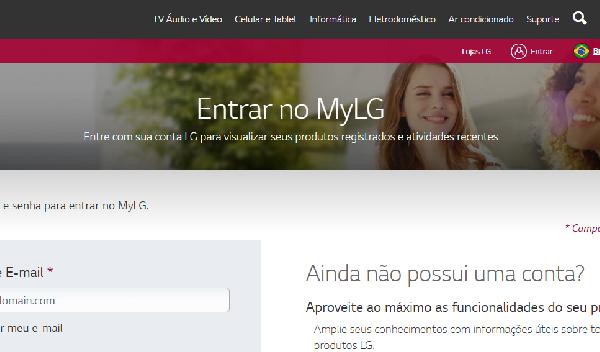 A LG disponibiliza seu site para compras com preços incríveis (Foto Divulgação: LG)