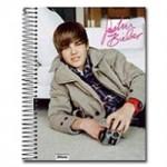 Material Escolar do Justin Bieber