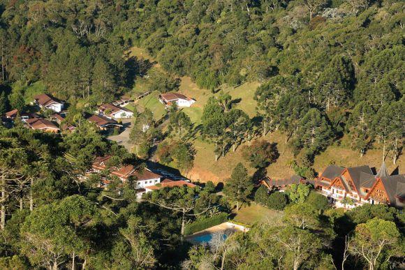 As unidades ficam em plena Serra da Mantiqueira, em meio a belas paisagens (Foto: Divulgação Nosso Recanto)