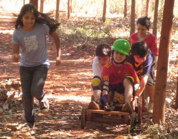 Acampamentos de férias em Minas Gerais (Foto: Divulgação Acampamento Serra Cerrado)