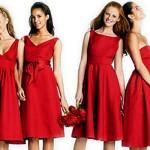 Vestidos vermelho para casamentos