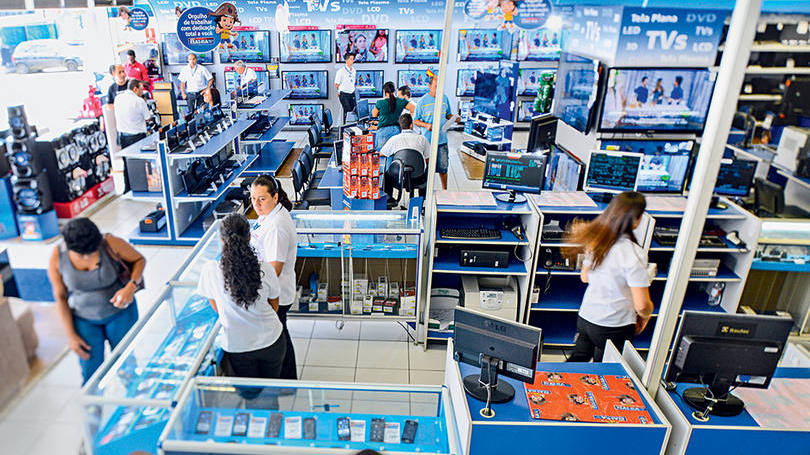 Casas Bahia Eletrodomésticos em Promoção (Foto: Exame/Abril)